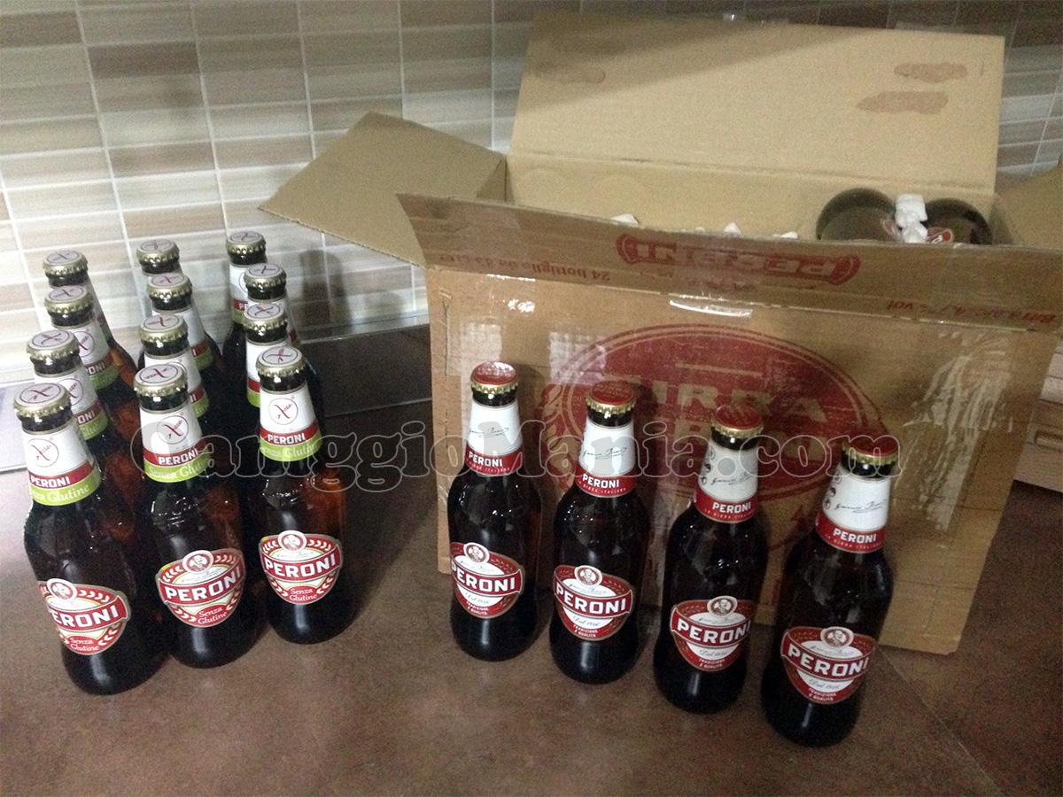 birre Peroni gratis di Viaggiatrice con Cuore Peroni