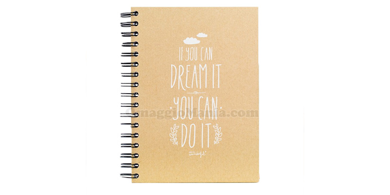 blocco note J.K. Rowling If you can dream it you can do it