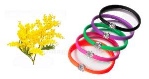 braccialetto omaggio SISA Festa della Donna 2017