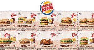 buoni sconto Burger King fino al 15 maggio 2017
