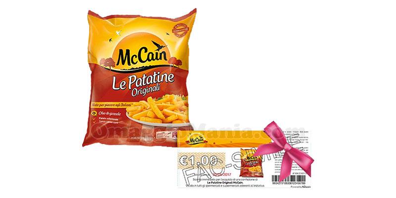 buoni sconto McCain Le Patatine Originali