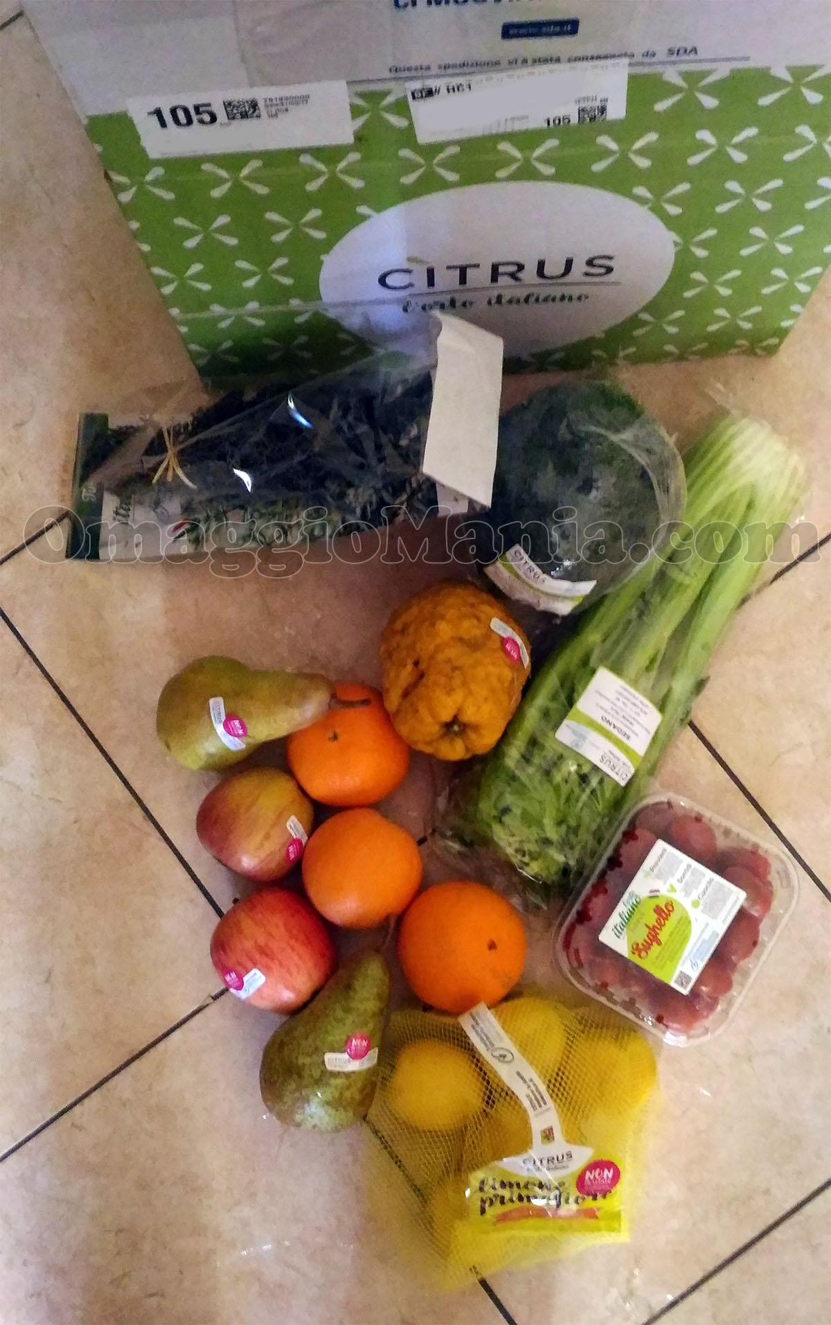Cassette di frutta e verdura kinder premio sicuro for Frutta online