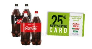 concorso Coca Cola vinci gift card Auchan Simply IperSimply LillaPois
