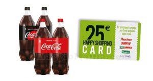 concorso Coca Cola vinci gift card Auchan Simply IperSimply LillaPois
