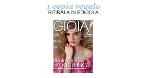 coupon copia omaggio Gioia 10 2017