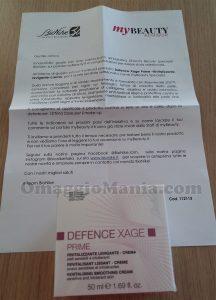 crema BioNike Defence Xage di Michela