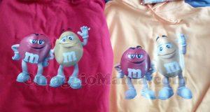 felpe M&M's di Claudia