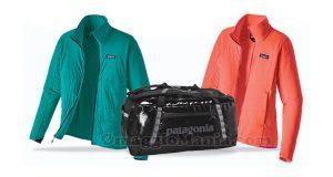 giacche e borsone Patagonia