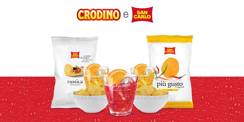 kit Aperitivo Zero Impegnativo Crodino San Carlo