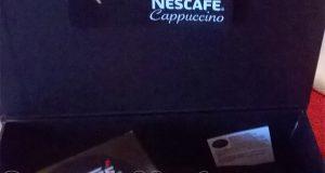 kit Nescafé Cappuccino ricevuto gratis da Lory