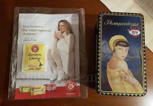 latta porta tisane Pompadour di Valentina