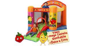 mega castello gonfiabile Dolce & Citro