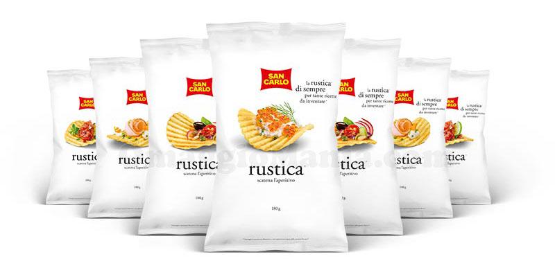 patatine San Carlo Rustica