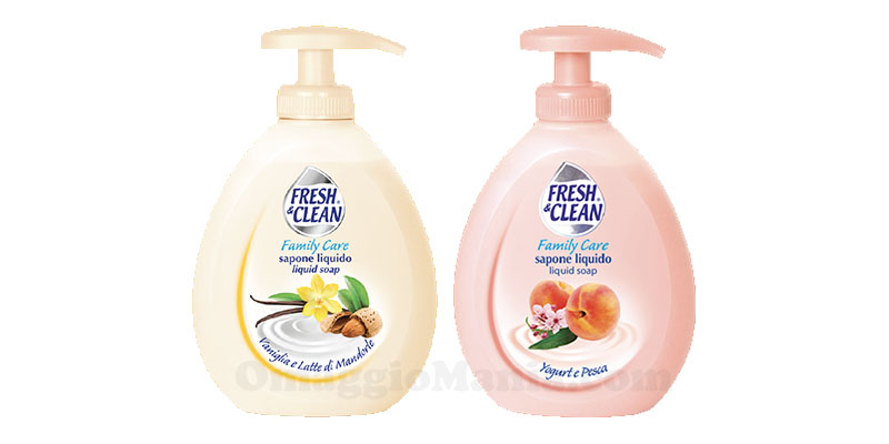 sapone liquido Fresh & Clean Family Care