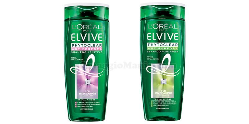 shampoo L'Oréal Elvive Phytoclear Antiforfora