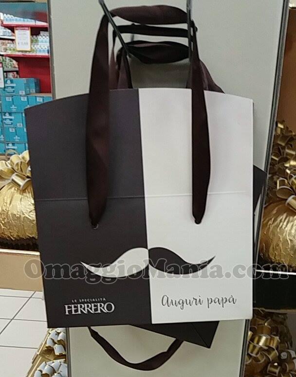 shopper Ferrero per la Festa del Papà