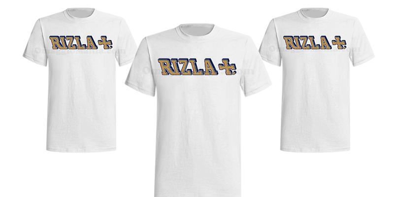 t-shirt Rizla
