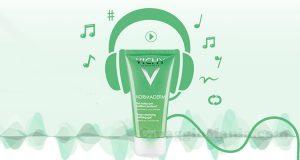 vinci Spotify Premium con Vichy Normaderm