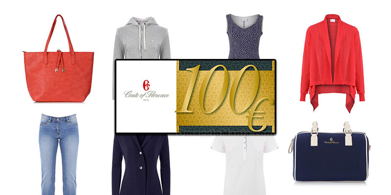 vinci gift card Conte of Florence 100 euro