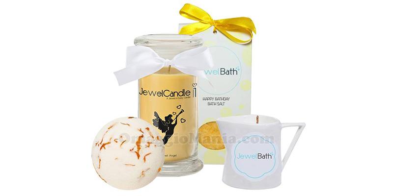 vinci kit di prodotti Jewel Candle per la Festa della Donna