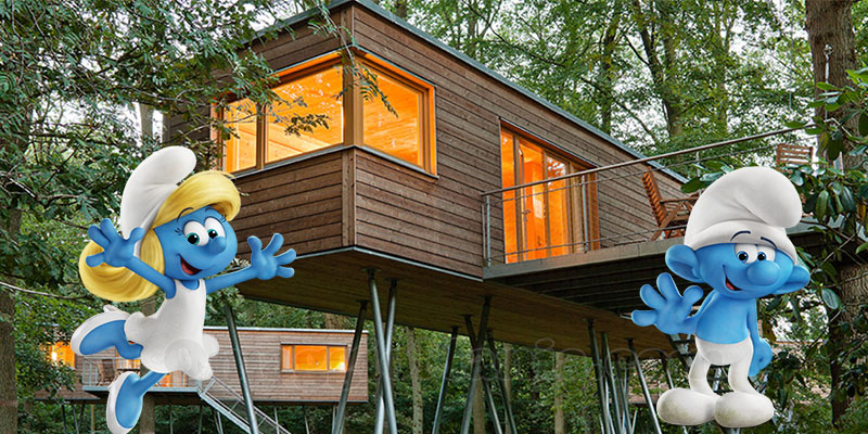 Vinci gratis un weekend nella casa sull\'albero - OmaggioMania