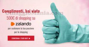 vincita 500€ di shopping Zalando di Miriam