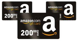 Amazon Gift Card 200 euro