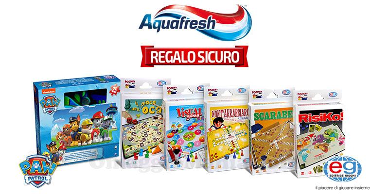 Aquafresh Missione Famiglia 2017