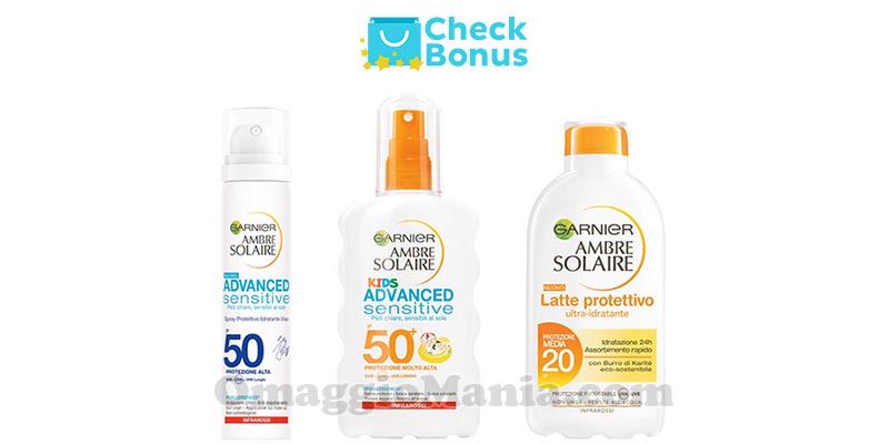 Check Bonus Ambre Solaire
