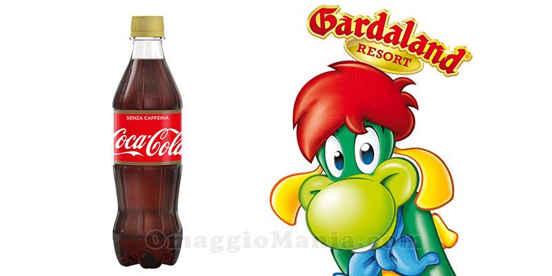 Coca Cola senza caffeina ti fa entrare a Gardaland