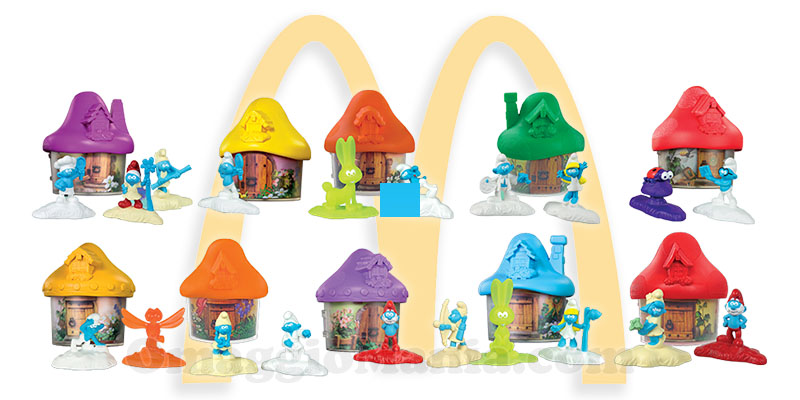 I Puffi McDonald's Happy Meal