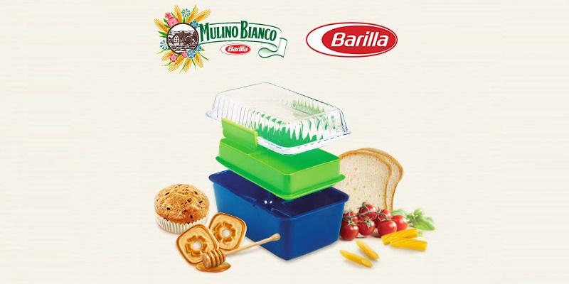 LunchBox Mulino Bianco Barilla omaggio