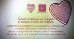 Patch #Perlanaforwomen ricevuta da Gaetano