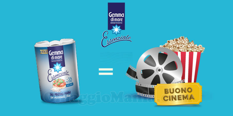 Prova Gemma Essenziale e Vinci Sempre il Cinema