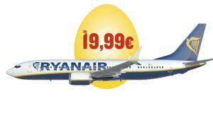 Ryanair promo Pasqua 2017