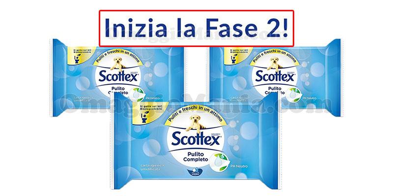 Scottex Pulito Completo inizio fase 2