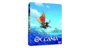 Steel Book film Disney Oceania