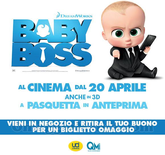 biglietto omaggio Baby Boss da Toys Center