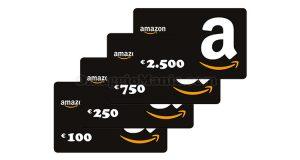 buoni Amazon fino a 2500 euro