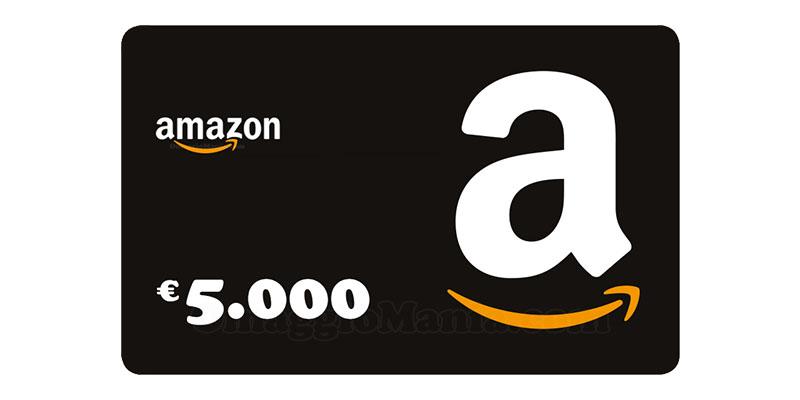 buono Amazon 5000 euro