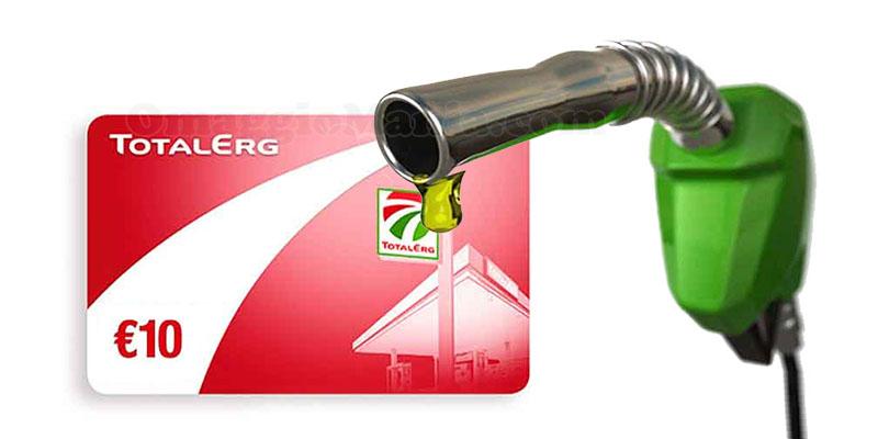 buono carburante TotalErg 10 euro