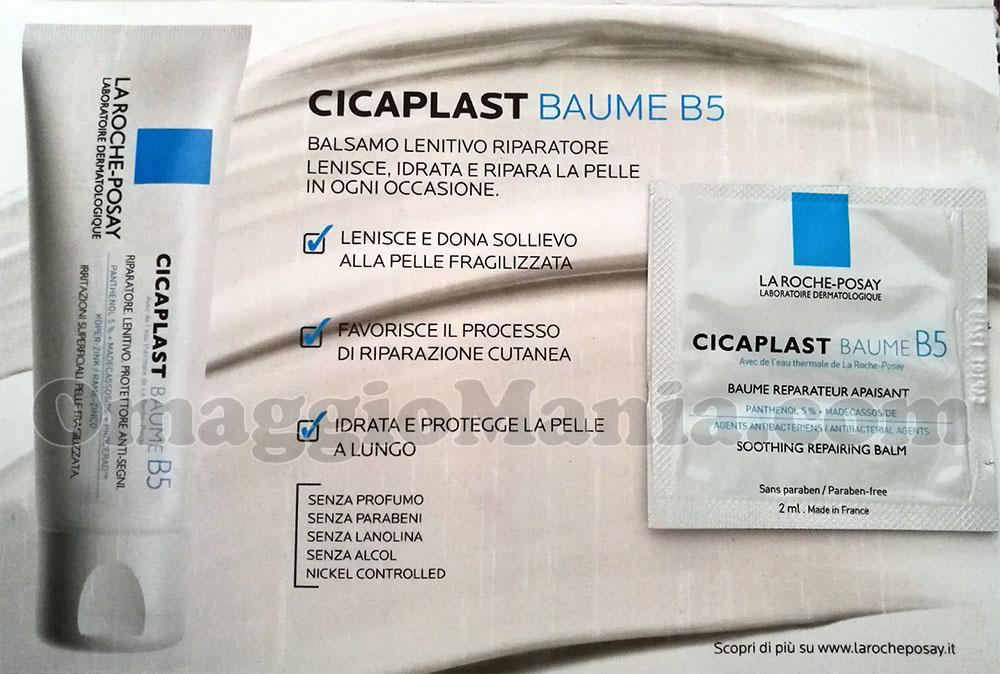 campione omaggio La Roche-Posay Cicaplast Baume B5 di Sole