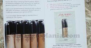 campione omaggio Shiseido Synchro Skin Glow di Rosa