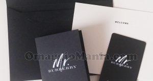 cartolina profumata profumo Mr. Burberry di Maria