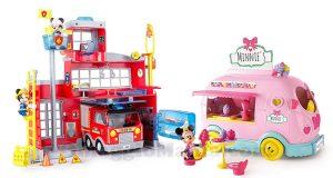 caserma pompieri e sweets van Topolino e Minnie