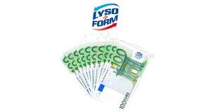 concorso Lysoform vinci 1000 euro