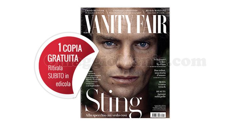 coupon omaggio Vanity Fair 14 2017