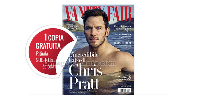 coupon omaggio Vanity Fair 16 2017
