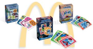 giochi di carte de I Puffi omaggio da McDonald's