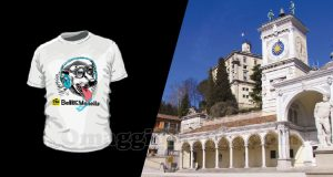 indovina città vinci t-shirt Radio Bellla & Monella 13-04-2017